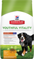 Hill's Science Plan Canine Adult 5+ Youthful Vitality Large Breed met Kip en Rijst 2.5 kg, 10 kg