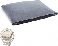 Scruffs Chateau Mattress Cover  Grijs L