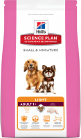 Hill's Science Plan Canine Adult Small & Miniature Light Original Kip 300 g, 1.4 kg