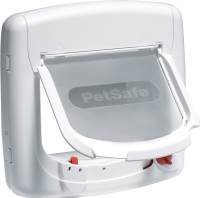 Puerta para Gatos Staywell Deluxe Magnética Blanco