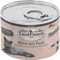 Cat Adult Pate with Beef and Turkey 195 g