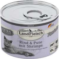 Cat Adult pate with Beef, Turkey and Shrimps 195 g