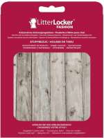Litter Locker Design Fabric Sleeves Wood  Lichtbruin 15.5x2.5x20.5 cm