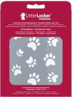 Litter Locker Design Fabric Sleeves Cat Paws  Grijs 15.5x2.5x20.5 cm