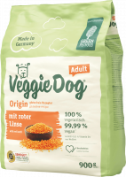 Green Petfood VeggieDog Origin Adult avec Lentille Rouge 900 g, 10 kg
