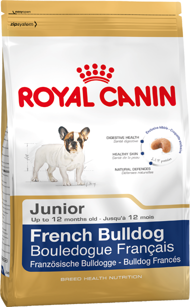Корм royal canin bulldog french junior