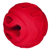 Pelota para Snacks, Caucho natural Rojo