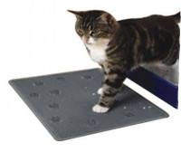 Cat Litter Mat Rubber grey Donkergrijs