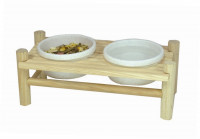 Rodent Dining Table, double 24x11x8.5 cm