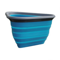 Mash & Stash Collapsible Dog Bowl Lichtblauw