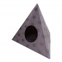 Triangle Cats Gris oscuro