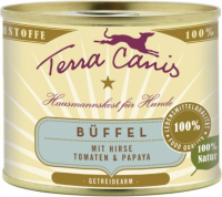 Terra Canis Classic Meals, Buffalo with Millet, Tomato and Papaya 400 g