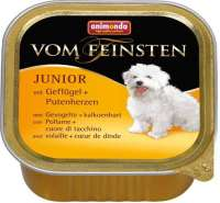 Vom Feinsten Junior Poultry & Turkey hearts 150 g