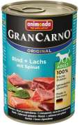 GranCarno Original Adult Beef & Salmon with Spinach 400 g