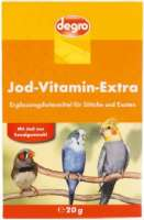 Iodine Vitamin Extra for parrots and exotic birds 20 g