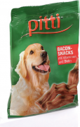 Pitti Snacks Bacon with Vitamins and Biotin 85 g