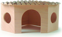 Pitti Wooden House for dwarf rabbit