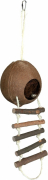 Coconut House for Hamsters Ruskea