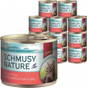 Nature Ocean Fish Pure red Perch in Jelly 185 g Schmusy