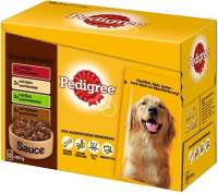 Pedigree Multipack Maaltijdzakjes Adult Selection 12x100 g