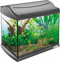 Tetra AquaArt Aquarium Complete Set Shrimps  20 l Zwart