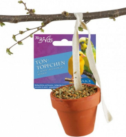 Birds Clay Pots for Budgerigars and Canaries 80 g