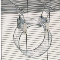 Metal Exercise Wheel Size L-G Zilver