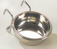 EBI Steel Bowl (with flat wall-mounting) 0.1L