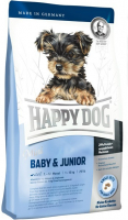Happy Dog Supreme Mini Baby & Junior 4 kg, 300 g, 1 kg