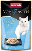 Vom Feinsten Adult with Chicken Fillet & White Tuna in Sauce Art.-Nr.: 20095