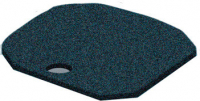 Activated Carbon Foam Pads for Filters Zwart