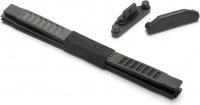 Mounting strips (6 pieces) & USB-covers (2 pieces)