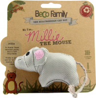 Cat Toy Millie The Mouse Grijs