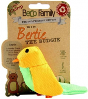 Catnip Toy - Bertie The Budgie Geel