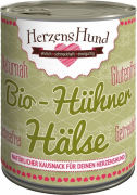 Herzens Hund Bio Chicken Neck 180 g