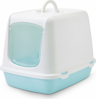 Cat Litter Box Oscar Retro Aqua