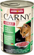 Carny Adult Rind, Pute + Kaninchen 400 g