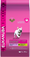 Eukanuba Adult Small Breed, Weight Control, Kip 3 kg