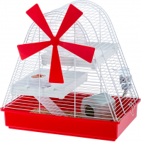 Cage - Magic Mill White Rojo