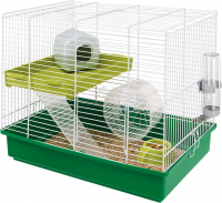 Cage - Hamster Duo White Groen