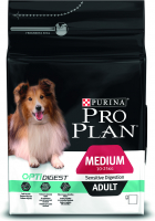 Purina Pro Plan Medium Adult Sensitive OPTIDIGEST rijk aan kip 3 kg