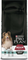Purina Pro Plan Medium Adult Sensitive OPTIDIGEST rijk aan kip 3 kg, 14 kg