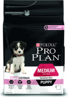Purina Pro Plan Puppy Medium - Optiderma Zalm  3 kg