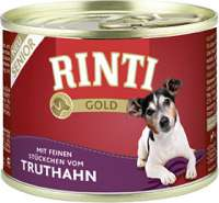 Rinti Gold Senior Turkey 12x185 g