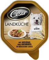Cesar Country Cuisine with Poultry & Brown Rice in gravy 150 g