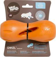 Qwizl Treat Toy Naranja