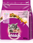 Whiskas Junior com Salmão 800 g