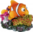 Clownfish and Coral with Air Outlet