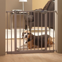 Dog Barrier Door 75x7x75 cm