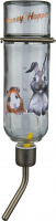 Trixie Honey & Hopper Glazen Drinkfles  500 ml Zilver